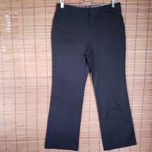 Style & Co.petite 12 black pants flare leg